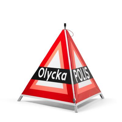 Varningstält PULS 90 Viltolycka